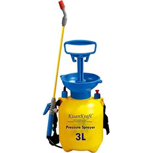 3 Liter Plastic Home and Garden Manual Pressure Sprayer