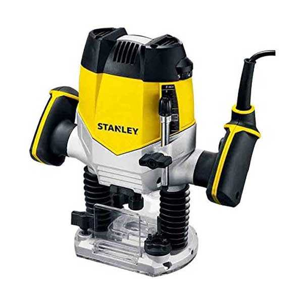 1200W 8000-27000rpm 12mm Variable Speed Plunge Electric Router Stanley Brand STRR1200-B5