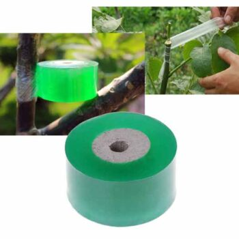 WWmily Single Rolls Stretchable Grafting Tapes Self-adhesive Nursery Tapes Garden Grafted Membrane Repair Tool Green(Width 3cm)