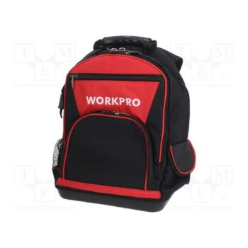 16 Inch Water Proof Backpack With Handbag Tool Bag Workpro Brand W081074