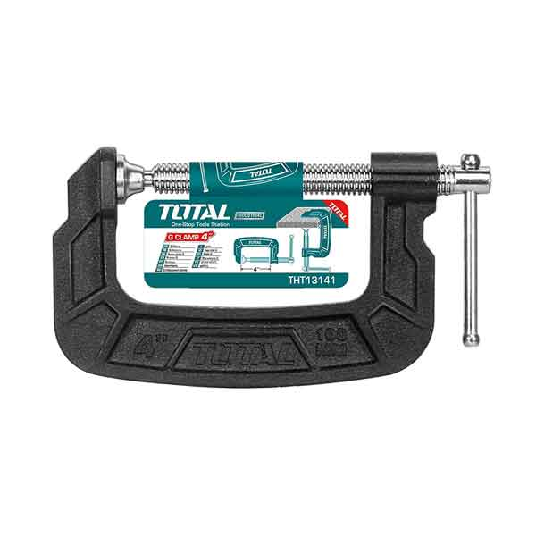 4 Inch G Clamp Total Brand THT13141
