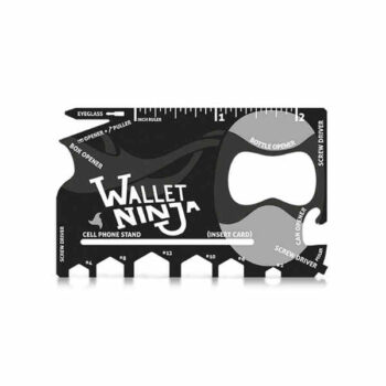 Wallet Ninja- 18 in 1 Credit Card Sized Multi-tool