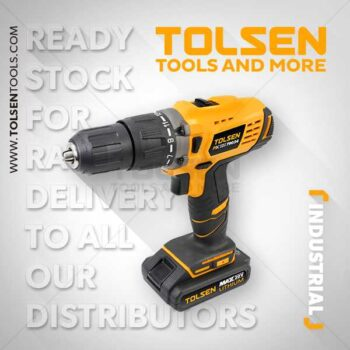 20V 1400rpm 58Nm Cordless Drill Machine with Impact Function Tolsen Brand 79034