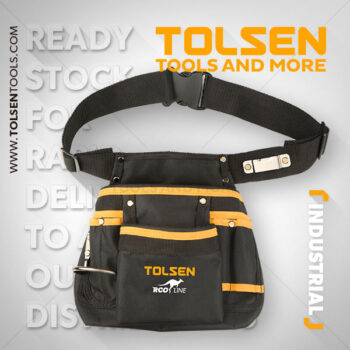 11 Pocket Industrial Tool Pouch Tolsen Brand 80120