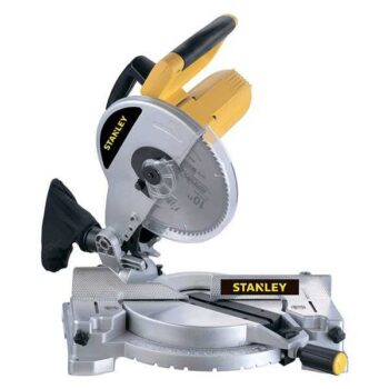 1500W 254mm 5500rpm  Corded Compound Meter Saw Stanley Brand STSM1510-B5