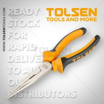 200mm- 8 Inch Long Nose Pliers Tolsen Brand 10007