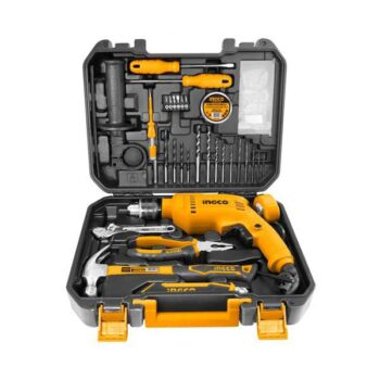 550W Impact Drill Machine Ingco Brand with 115 Pieces Accessories HKTHP11111