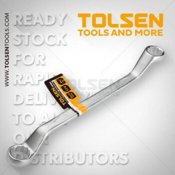 30x32mm Double Ring Spanner Tolsen Brand - Best Quality - fixit.com.bd