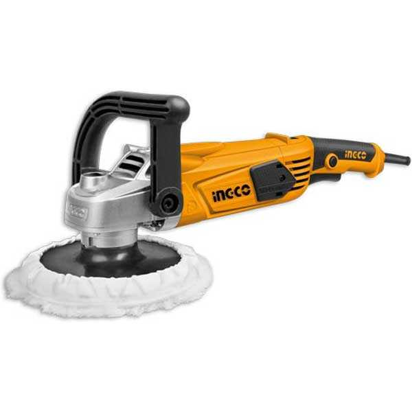 7 Inch 1400W 3800rpm High Quality Electric Polisher Angle Grinder Ingco Brand AP14008