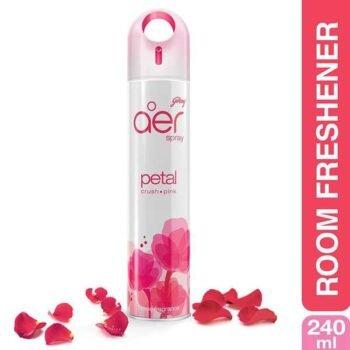 240ml Petal Crush Pink Air Freshener Godrej Aer Spray