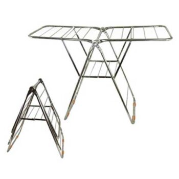 Stainless Steel Foldable Cloth Dryer Stand for Drying Clothes (Diameter-25)