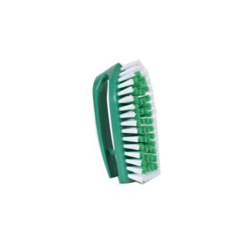 Green Color Smart Cloth Brush with Plastic handle