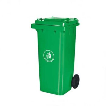 100 Liter Green Color Heavy Duty Industrial Dustbin for Household & Industrial Use