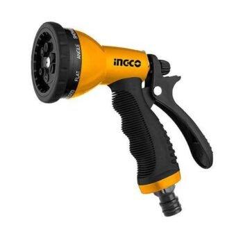 9-Pattern Plastic Trigger Nozzle Ingco Brand HWSG092