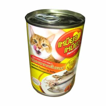 400 gm Seafood Platter in Jelly Cat Food Can Type