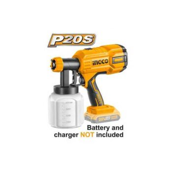 20V Lithium-Ion Cordless Spray Gun Ingco Brand CSGLI2001 (Without Battery & Charger)