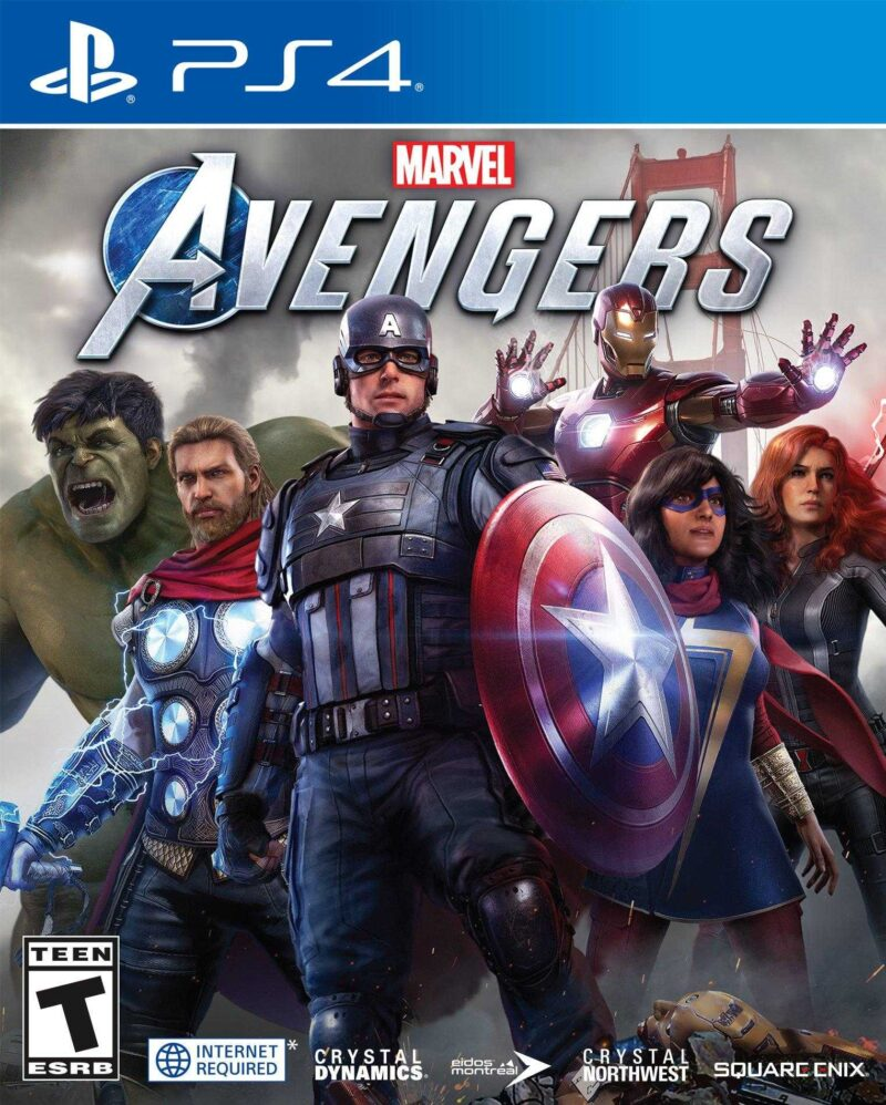 Marvel's Avengers Game For PlayStation 4 (PS4) - fixit.com.bd