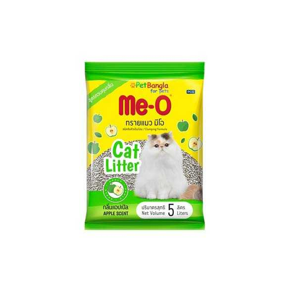 10L  Me-O Clumping Cat Litter – Apple Scent