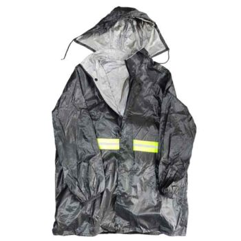 Raincoat with Trousers For Men Waterproof Polyester