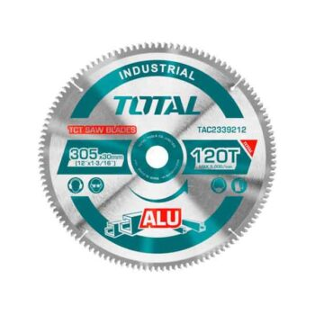 12 Inch (305mm) TCT saw blade for Aluminum Total Brand TAC2339212