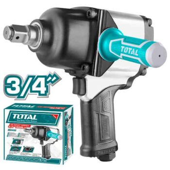 3/4 inch 1600Nm 4000rpm Air Impact Wrench Total Brand TAT40342