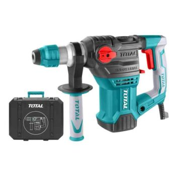 1500W 850rpm Heavy Duty Rotary Hammer Drill Total Brand TH1153216