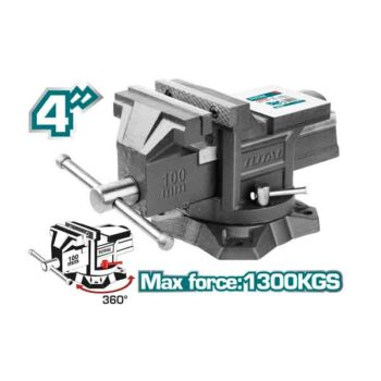 4 Inch Bench Vice Total Brand THT6146