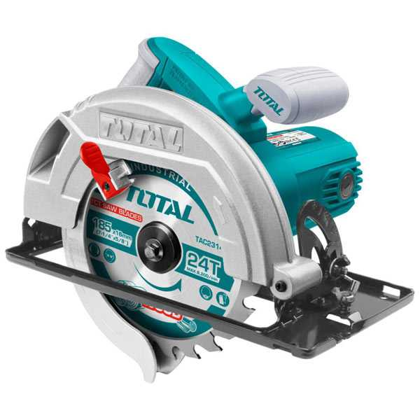 1400W 4800rpm Electric Circular Saw and Cutter Total Brand TS1141856