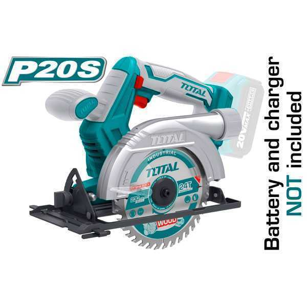 20V 3600 rpm Lithium-Ion without battery Circular Saw Total Brand TSLI1401