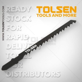 TOTAL LENGTH-100mm 5Pcs Jig Saw Blade Set Tolsen Brand 76803