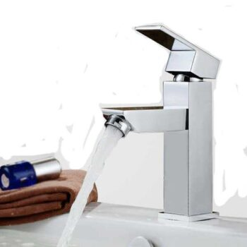 High Quality Metal Brushed Stainless Steel Single Lever Basin Mixer Time Brand