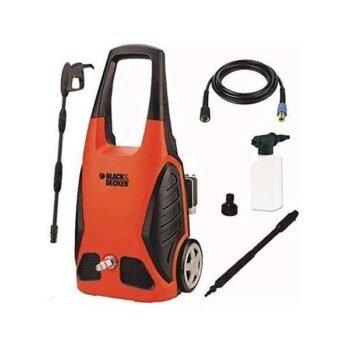 220-240V 50/60Hz 400l/h 120 bar max 1600W Pressure Washer Black+Decker Brand