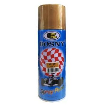 400ml Gold Color Spray Paint Bosny Brand