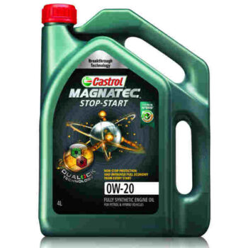 4 Liter CASTROL MAGNATEC STOP-START with Dualock Fully Synthetic 0W-20
