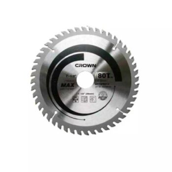80T TCT Circular Saw Blade for Wood 185mm (7-1/4 inch) Crown Brand