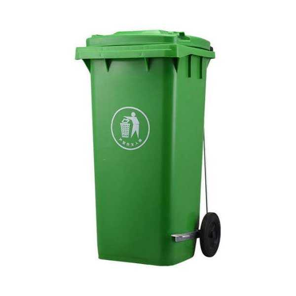 240 Liter Green Color Heavy Duty Industrial Dustbin for Household & Industrial Use