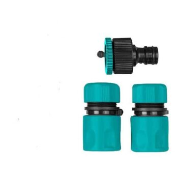 3Pcs Garden Water Hose Quick Connector Total Brand THWS030301