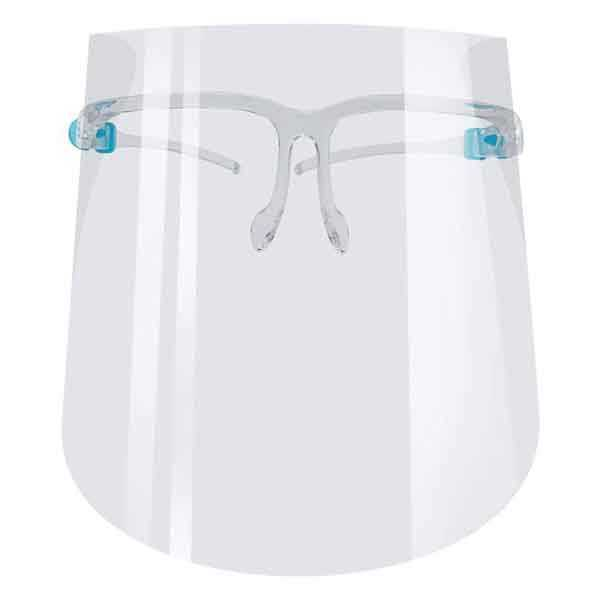 Goggles Face Shield Safety Oil-Splash Proof Anti-UV Protective Face Cover With Glass Transparent Facial Glass Mask