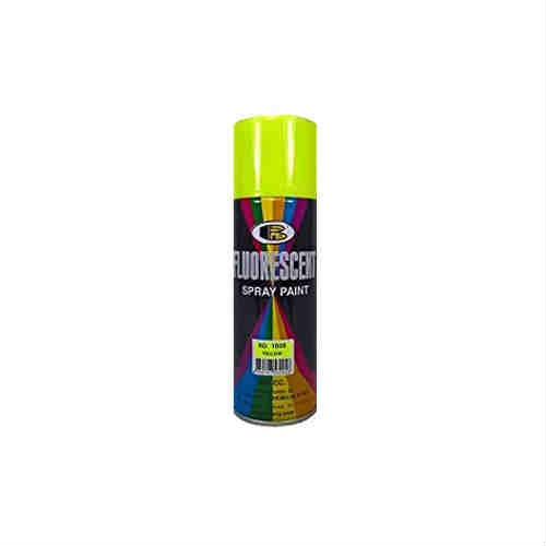400ml Fluorescent Yellow Color Spray Paint Bosny Brand