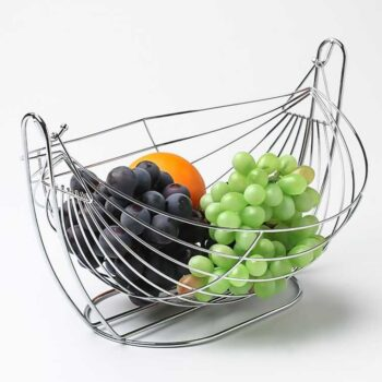 High Quality Stainless Steel Hanging Fruit Basket