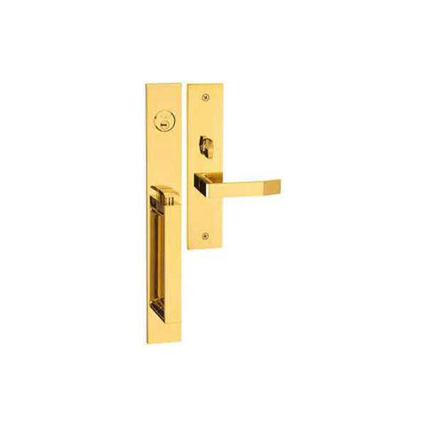 High Security Elegance Style 2 Entrance Door Handle Lock Yale Brand M8773 D3 PVD
