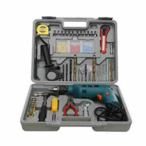 500W Electric Drill Machine Set with Accessories Kingsay Brand