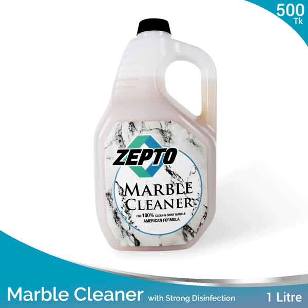 Marble Cleaner 1L Zepto Brand with Strong Disinfection Action
