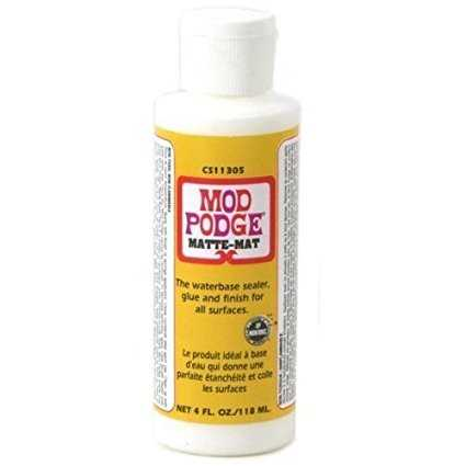 Mod Podge Matte Waterbase Sealer  Glue and Finish - 32 oz