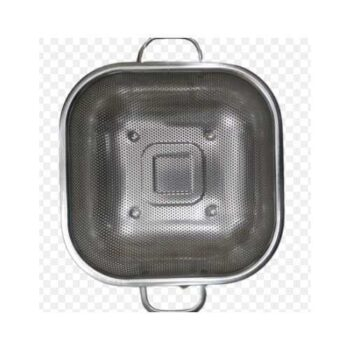 Medium Size Stainless Steel Heavy Duty Square Net Bowl Strainers