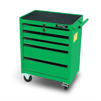 Small 5 Drawer Mobile Tool Trolley Toptul Brand