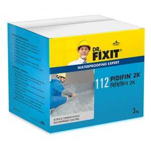 3 kg Water Proofing Pidifin 2K Powder  Dr Fixit Brand