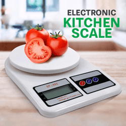 5 Kg White Color Digital Weight Scale