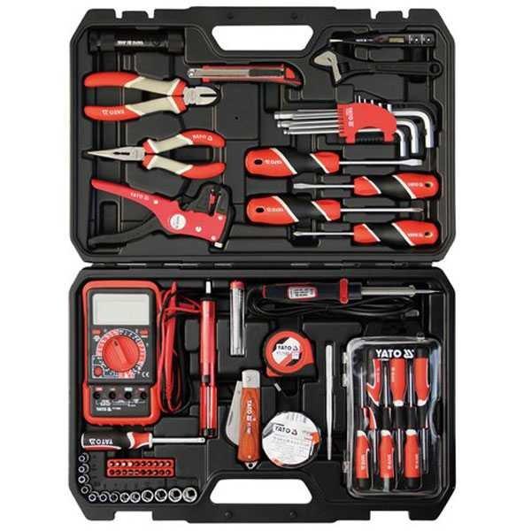 68 pcs Electrician Tool Set Industrial Yato Brand (POLAND) Yt-39004