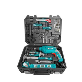 680W Hammer Drill Machine Total Brand with 115 Pieces Accessories THKTH P1152